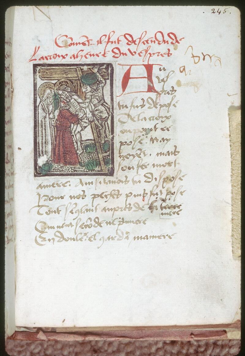 Tours, Bibl. mun., ms. 0231, f. 245