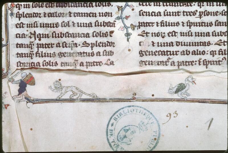 Tours, Bibl. mun., ms. 0398, f. 001 - vue 3