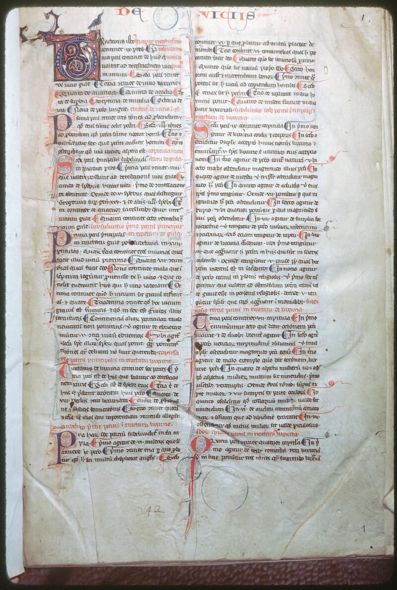Tours, Bibl. mun., ms. 0445, f. 001
